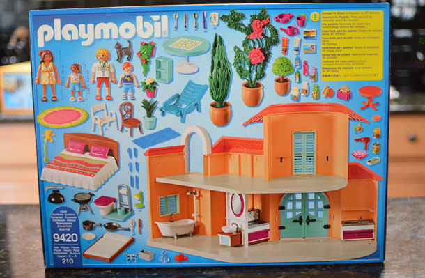 playmobil summer villa