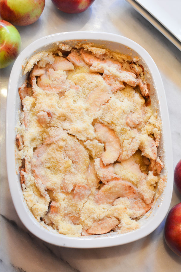apple crisp without oats