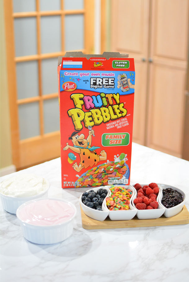 fruity pebbles snack ideas