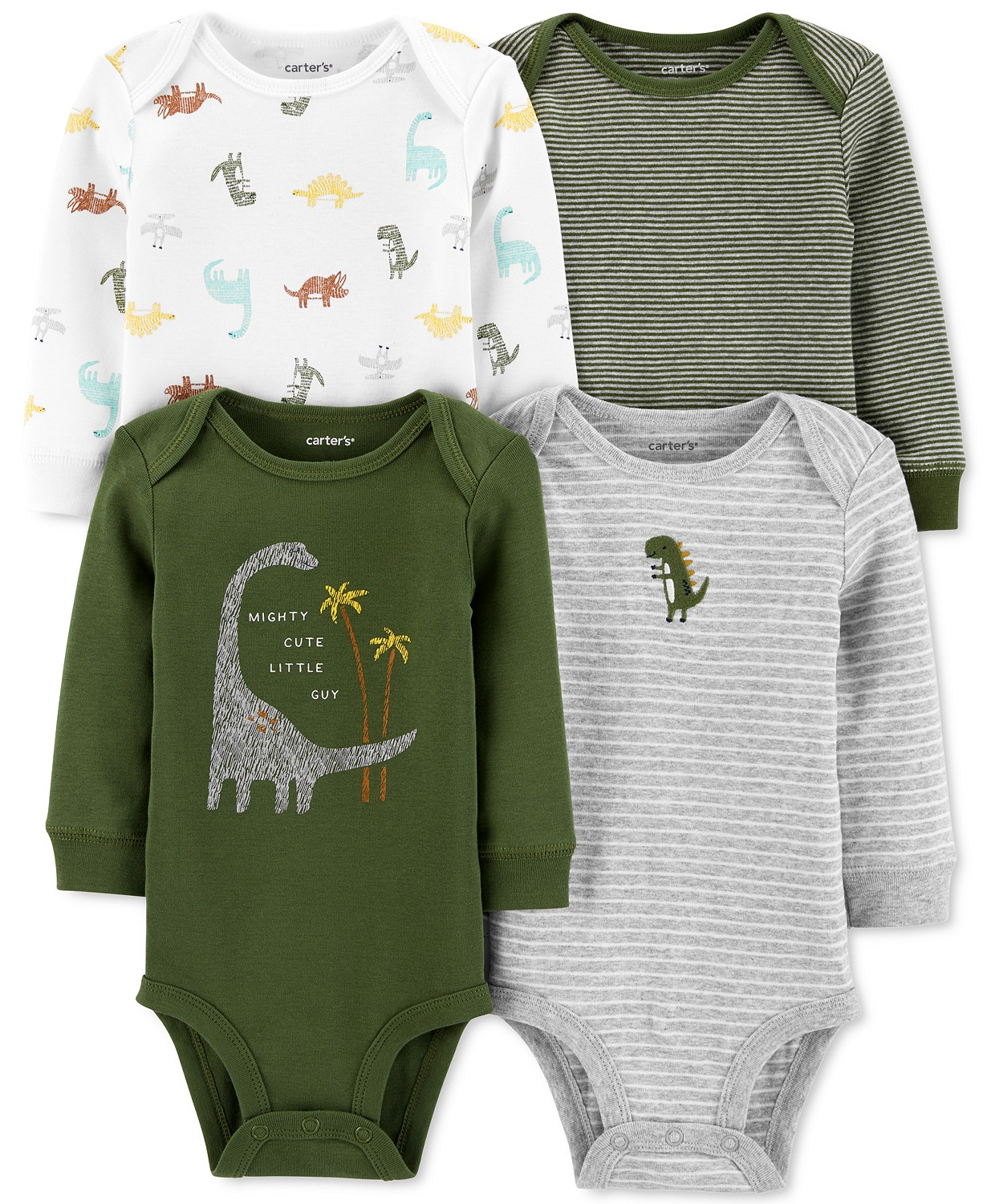 carters dinosaur infant outfit