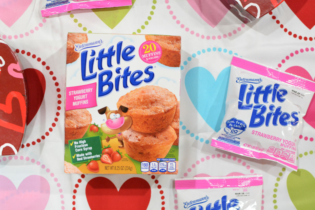 box of litle bites strawberry yogurt muffins
