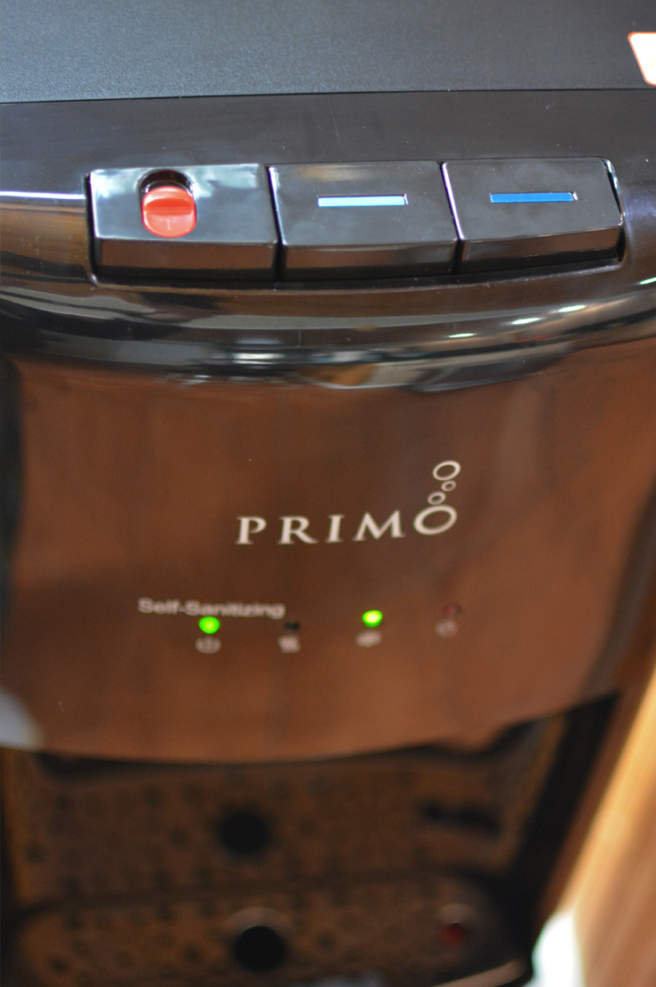 Primo Water Dispenser child safety hot water lock
