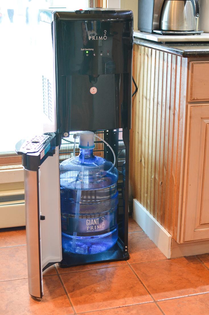 setting up Primo Bottom Loading Dispenser
