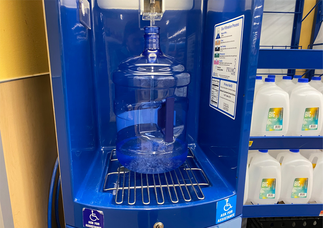 Walmart Primo Water Refill Station