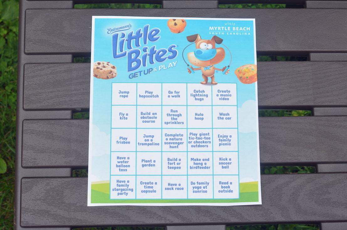 #TeamLittleBites Challenge Sheet