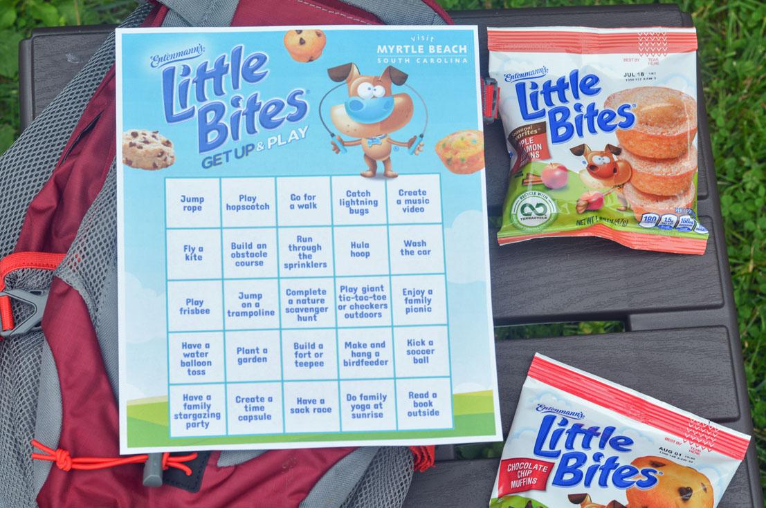 Entenmann's Little Bites Get Up & Play Activity