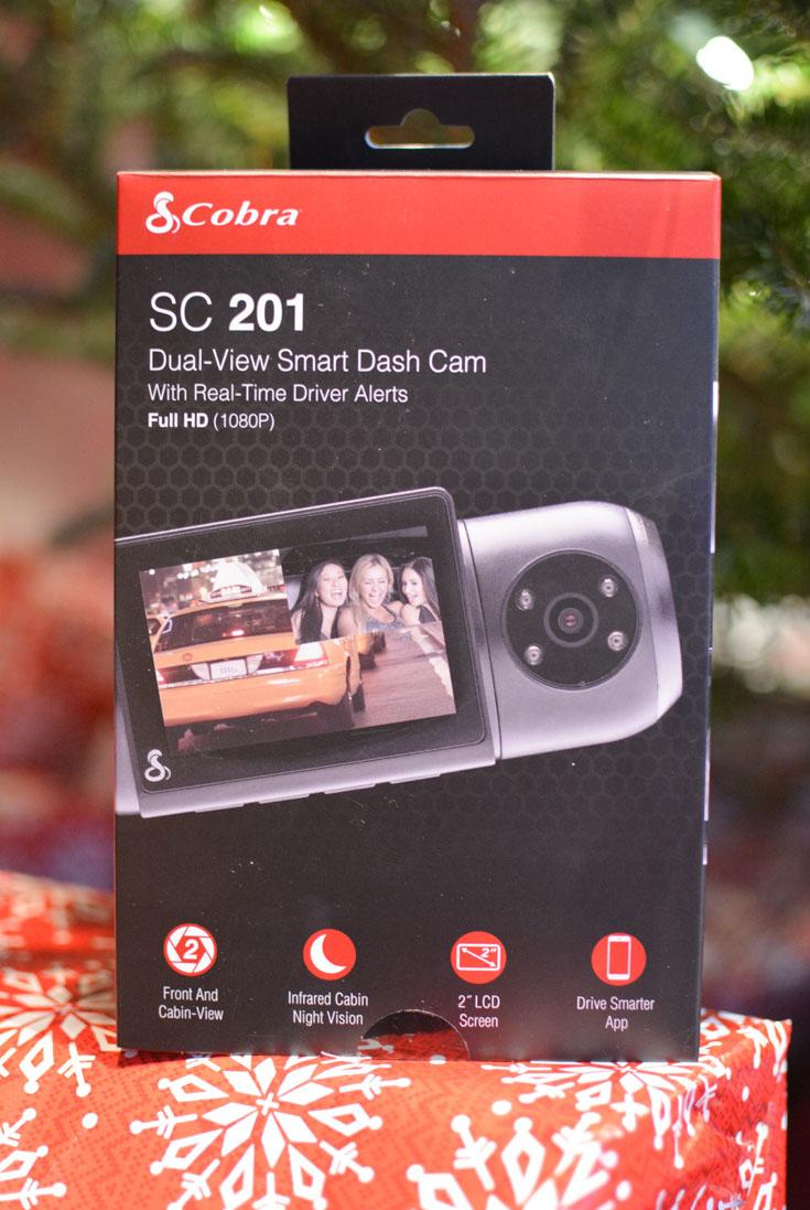 SC 201 Cobra dash cam