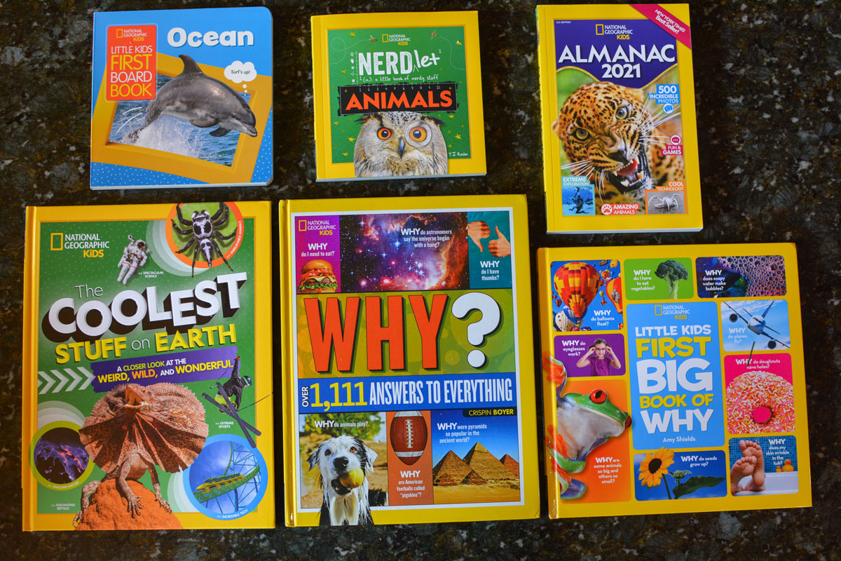 National Geographic Kids Books Holiday Gift Pack
