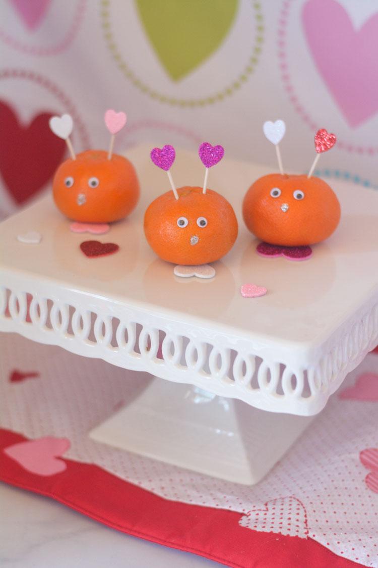 Halo Love Bugs made with Halo Mandarins