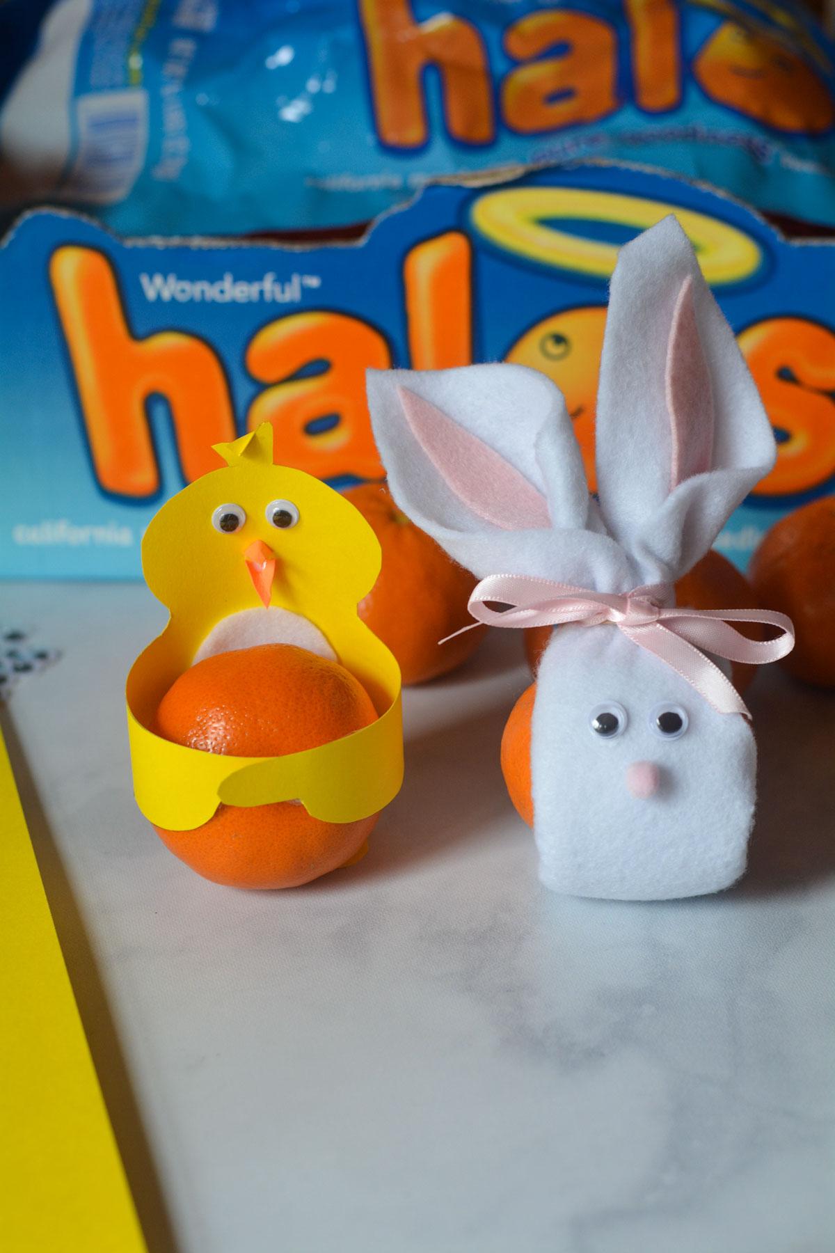 Halos Mandarins Easter Crafts