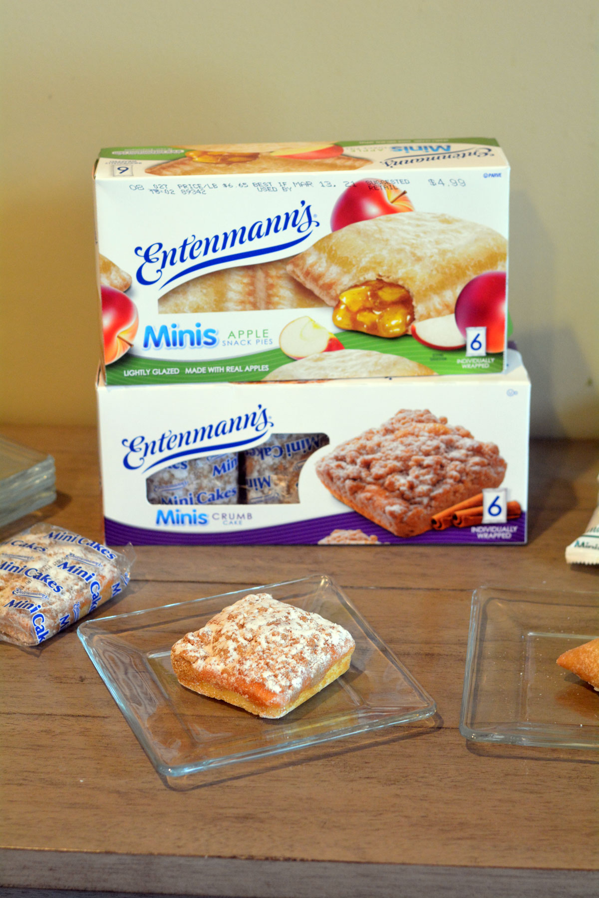 Entenmann's Mini Crumb Cake